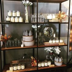 Fresh scents from @rewined candles to freshen up your home this spring!