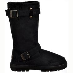Womens Biker Style Ankle Boots With Thermal Warm Lining /& Zip Perfect For Winter