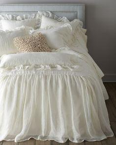 cabecero y ropa de cama!