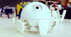 If we must have spider robots, they should all be as cute as this one.