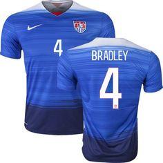 NIKE MICHAEL BRADLEY USA AWAY JERSEY 2015/16