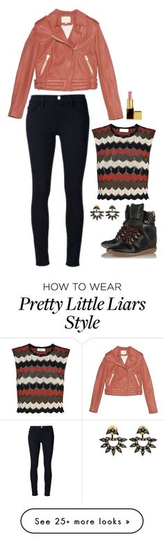 """""""Aria Montgomery Inspired Outfit"""" by daniellakresovic on Polyvore featuring A.L.C., Lionette, Frame Denim and Tom Ford"""