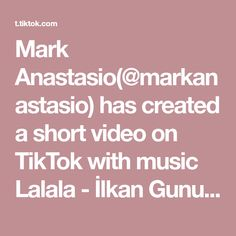Mark Anastasio( has created a short video on TikTok with music Lalala - İlkan Gunuc Remix. Took me a while to get the last one 🖖 One Wish, Young Thug, Thank U, Music, Aesthetic Wallpapers, Smile, Face, Happy, Musica