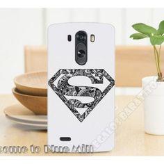 Carcasa divertida plástica diseño súper man para LG G3