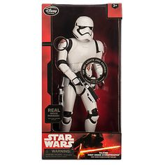 FIRST ORDER STORMTROOPER | Disney Store exclusive Talking Figure 2015 | swmycollection.com