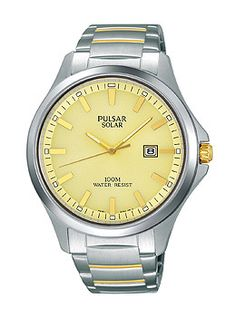 Pulsar Business Three-Hand Stainless Steel Men's watch #PX3075