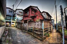 Wooden Japanese House