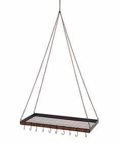 Another great find on #zulily! Rustic Iron Pot Rack by Cowboy Living #zulilyfinds