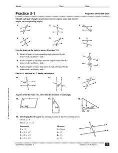 Parallel Lines Transversal Worksheets Worksheets For Grade 3, Matching Worksheets, Shapes Worksheets, Addition Worksheets, Number Worksheets, Reading Worksheets, Printable Worksheets, Density Worksheet, Angles Worksheet