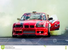 Image of drift, racing - 81239202 Bucharest, Editorial Photography, Tired, Vectors, Racing, Sign, Stock Photos, Cars, Image