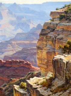 View Grand Canyon by Clyde Aspevig on artnet. Browse upcoming and past auction lots by Clyde Aspevig. Arches Nationalpark, Yellowstone Nationalpark, Watercolor Landscape, Landscape Art, Landscape Paintings, Western Landscape, Mountain Landscape, Beautiful Paintings, Beautiful Landscapes