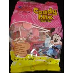 <p>A pinata mixture of Minnie Mouse Characters. Each bag contains an assortment of Gummies, Fruit Chews, Lollipops and Candy Characters. This product is manufactured in a facility that processes peanuts, almonds, hazelnuts, walnuts milk and soy.</p>