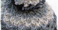 Lupaamani tupsupipon ohje tulee tässä! Harmaan pipon olen kutonut Vikingin Odinista. (18 s=10 cm) n:o 5,5 pyöröpuikoilla ... Merino Wool Blanket, Knitting, Hats, Minecraft, Kite, Tricot, Hat, Breien, Stricken