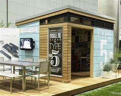 8x12 Modern Shed Plans Modern DIY Office Studio Shed Designs