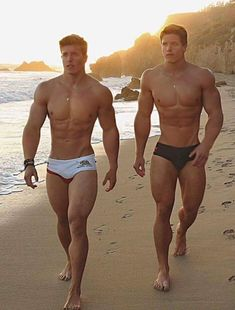 Sexyy, these guys look great i really like the build of the guy in the black shorts!