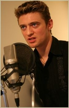 this is Crispin Freeman, the best looking anime voice actor ever!!! and the best :)