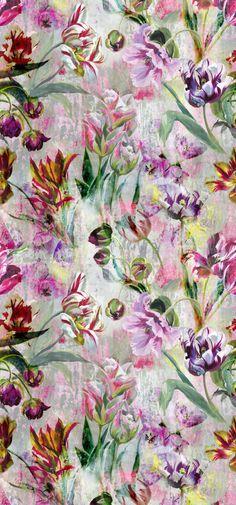 New Wall Paper Floral Bedroom Designers Guild 26 Ideas Vintage Flowers Wallpaper, Trendy Wallpaper, Wallpaper Iphone Cute, Flower Wallpaper, Floral Wallpapers, Flower Backgrounds, Wallpaper Panels, Wall Wallpaper, Pattern Wallpaper