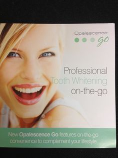 Professional Tooth Whitening available from £99 and done by dentist and Spa owner Patricia Manson. www.spabannockburn.co.uk