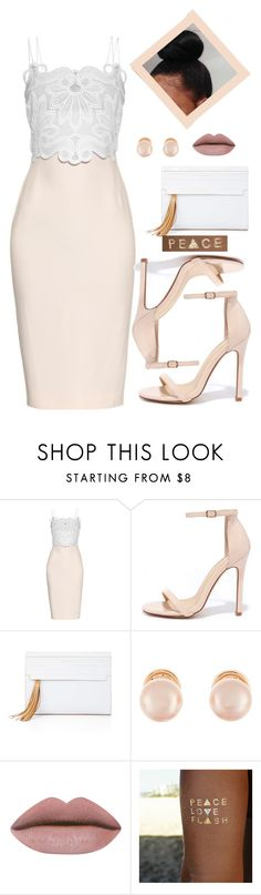 """Dating Outfit"" by hun-na14b ❤ liked on Polyvore featuring Antonio Berardi, Liliana, BCBGMAXAZRIA, Kenneth Jay Lane and Flash Tattoos"