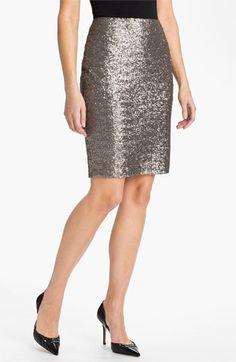 Halogen® Sequin Skirt | Nordstrom