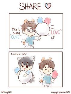 (AllJin) Best of me about Jin fanart - NamJin - Page 3 - Wattpad Namjin, Jikook, Ship Drawing, Bts Drawings, Fan Art, Bts Chibi, Bts Fans, Kpop Fanart, Cute Gay