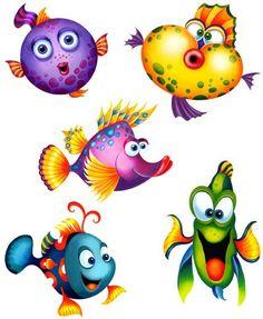 veselé rybky