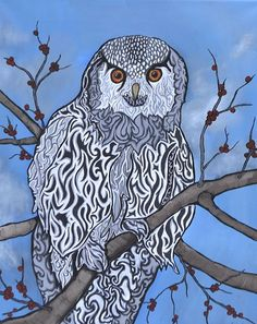 Hallelujah - My Painted Path Red Berries, Paths, Owl, Birds, Fish, Artist, Pattern, Prints, Animals