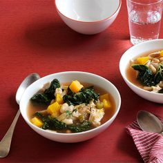 Kale, White Bean, and Butternut Squash Soup Recipe - Delish.com