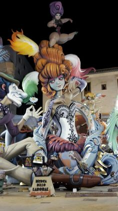 Caricature, Whimsical, Carnival, Character Design, Cool Stuff, Spain, Artist, Anime, Inspirational