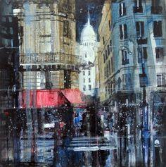 ARTFINDER: Basilique du Sacré-Cœur by Julian Sutherland-Beatson - Part of my ongoing cityscapes project
