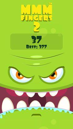 I scored 37 points in Mmm Fingers 2! Can you beat my score? #mmmfingers2