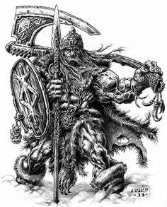 Viking Warrior Tattoos, Pencil Tattoo, Totenkopf Tattoos, Demon Tattoo, Nordic Tattoo, Asatru, Viking Art, Black White Art, Celtic Art