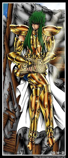 Saint Seiya - Gold Saint Aquarius no Degel - Lost Canvas