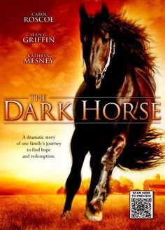 THE DARK HORSE - Dana returns to her childhood home to discover that it is threatened with foreclosure. To save the farm and the family, she must tame her mother's dangerous horse and ride him to victory in the year's biggest dressage competition. Horse Movies, Horse Books, Dog Books, Love Movie, Movie Tv, Movies To Watch, Good Movies, Best Classic Movies, World History