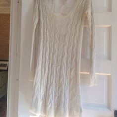 Free people dress Lightweight wool blend Free People dress.  Lace toe detail at back neck. Never worn, except to try on. NWOT. XS but is forgiving and not tight so fits a small anywhere from , 2-6 Free People Dresses Midi