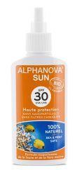 Lait solaire bio SPF 30 haute protection 125 g