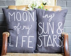 Pillow > Handmade Cotton Pillow > Moon Of My Life > My Sun & Stars > Hand Painted Quote Pillows > Decorative Throw Pillow > Game of Thrones