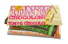 Delicious fair trade chocolate from Tony's Chocolonely!