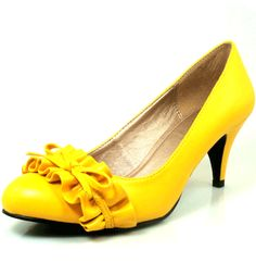 These made me think of Abby! Sunny & yellow!