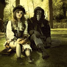 From the other side.  Models unknown.  #steampunk
