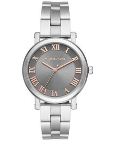 e9ed56839ea Michael Kors Women's Norie Stainless Steel Bracelet Watch 38mm MK3559 &  Reviews - Watches - Jewelry & Watches - Macy's