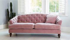 Paisley Midi in Oscar Velvet Dusty Pink