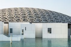 New photographs reveal engineering behind the Louvre Abu Dhabi's dome