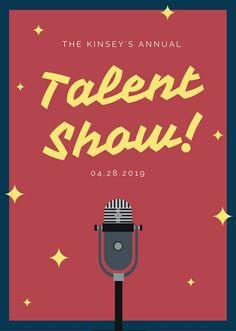 Talent Show Flyer Template . 30 Talent Show Flyer Template . Customize 127 Talent Show Flyer Templates Online Canva Talent Show, Business Plan Template Free, Event Flyer Templates, Letter Templates, Motion Design, Business Flyer, Clipart, Flyer Design, Google