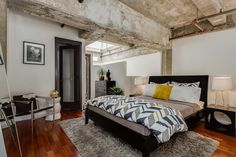 Live/Work Conversion Loft in San Francisco With Vaulted Concrete Ceilings - http://freshome.com/2014/10/17/livework-conversion-loft-in-san-francisco-with-vaulted-concrete-ceilings/