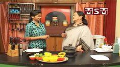 Sugar Barley Kichadi With strawberry sharbath