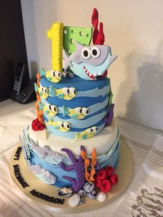 Yesterday Was My Sons First Birthday Party His Cake Completely Blew Us Away