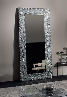Crystal Grey Mirror