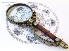 OMG I WANT THIS SO BAADDDD!!!! Steampunk magnifying glass by Diarment.deviantart.com