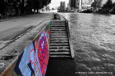 Am Donaukanal in Wien. Graffiti, Vienna, Surfboard, Pictures, Canvas, Surfboards, Surfboard Table, Graffiti Artwork, Street Art Graffiti